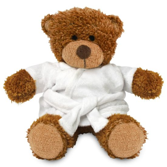 Blank 17cm Anne Bear with Dressing Gown