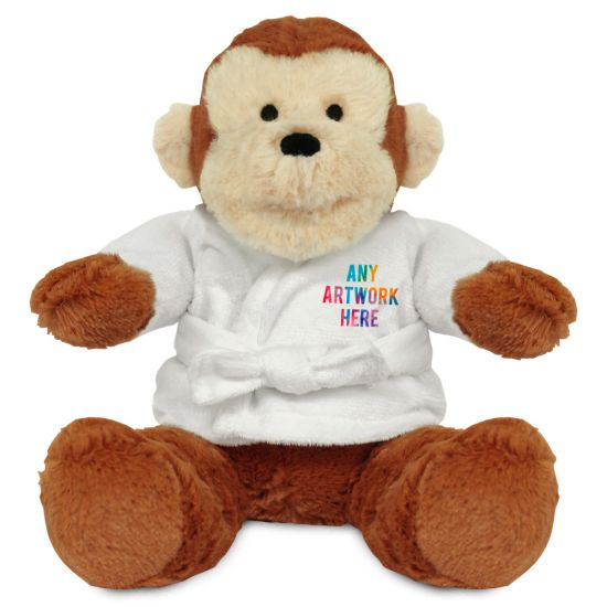 20cm Max Monkey with Dressing Gown