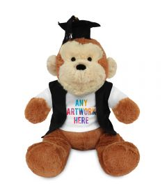 20cm Max Monkey with Graduate outfit