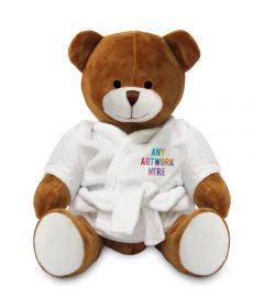 20cm Richard Bear with Dressing Gown