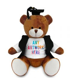 20cm Richard Bear with Graduate outfit