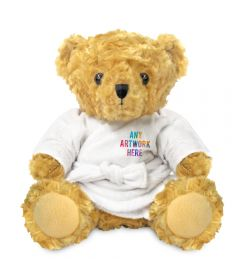 19cm Victoria Bear with Dressing Gown
